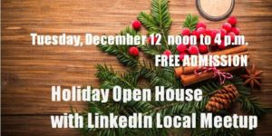Holiday Open House with LinkedIn Local Meetup @ The Encorepreneur Cafe |  |  |